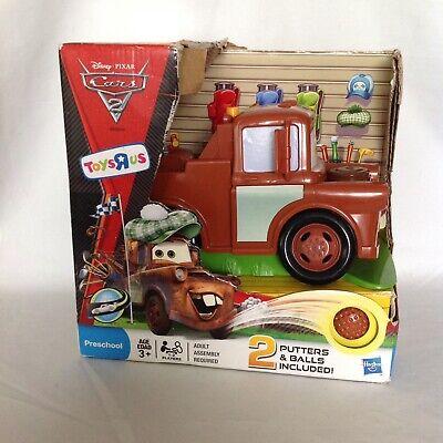 Rare Disney Pixar Cars 2 Mater Golf Play Set Toys R Us Hasbro Toy