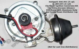 s l300 electronic ignition conversion 1963 74 chevrolet 6 cyl, vac adv