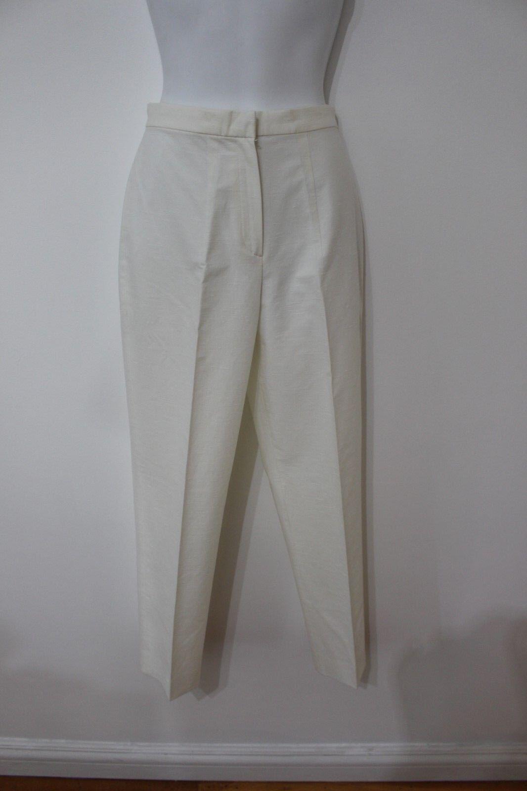Giorgio Armani White Capri Pants Sz 4 NWT