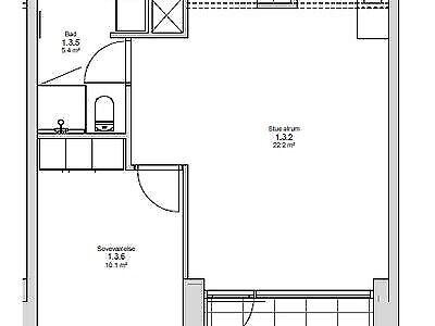 9000 vær. 3 lejlighed, m2 77, Provstejorden