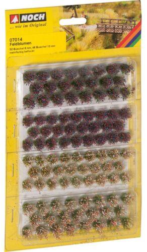 Encore 07014 Grasbüschel fleurs sauvages multicolore 52 épis 6 mm 46 épis 12 mm