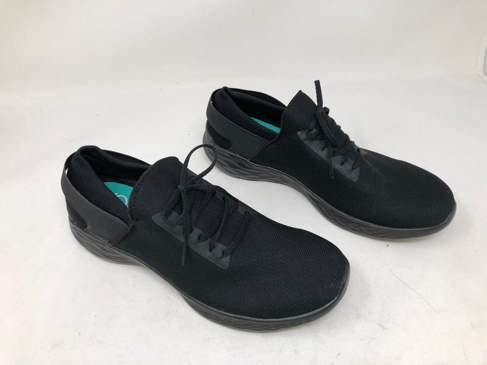 New   Women's Skechers YOU - INSPIRE(12843) Black slip on 37S