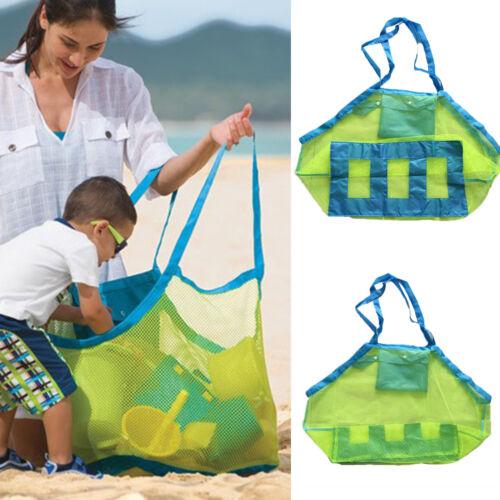 Sommer Aufbewahrungstasche Netztasche Kinder Sandspielzeug Strand Netz Täglich
