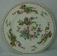 CROWN STAFFORDSHIRE china PAGODA pattern DINNER PLATE 10-1/2""