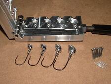 Freshwater Flateye Standup jig mold 1/4, 3/8, 1/2, 3/4 oz CNC Aluminum