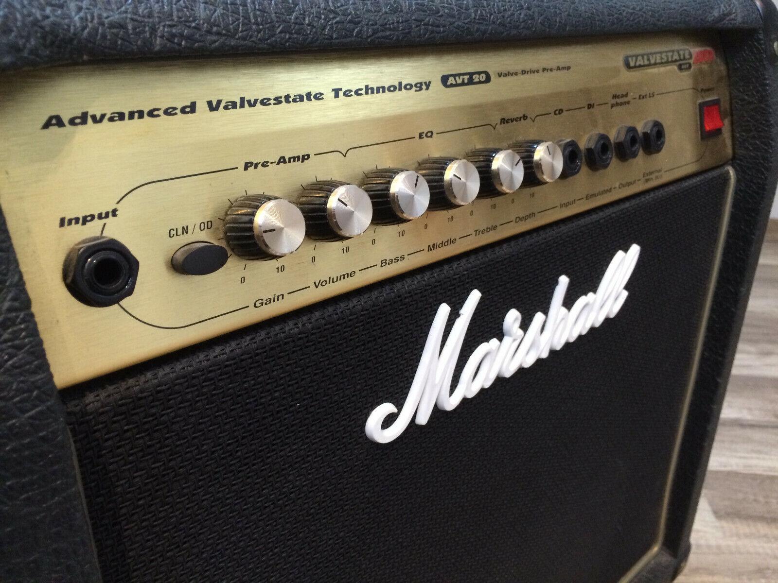 Marshall AVT20 Valvestate 2000 Combo mit ECC83 Röhren-Preamp - Top Zustand