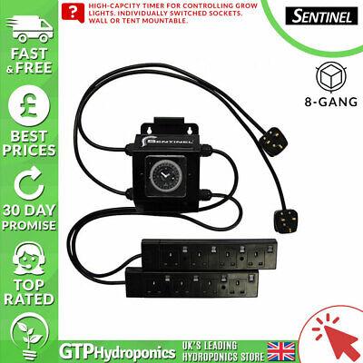 Sentinel Cs8 Contattore 8 Gang/modo 26 A Ge Crescere Relè Di Controllo Luci Interruttore Timer- Brividi E Dolori