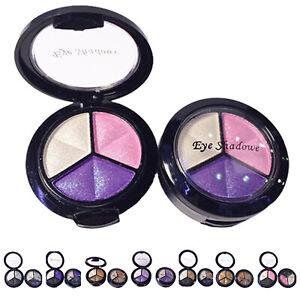 Professional Smoky Cosmetic Set 3 Colors Natural Matte Eyeshadow Makeup Too J5E7