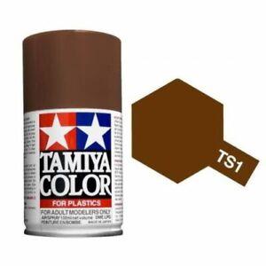 Tamiya-Color-TS-Plastico-Pintura-en-Aerosol-100ml-puede-TS1-TS101-Modelo-Pintura-en-Aerosol-ukshop