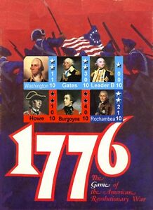 Variant Counters & Rules for 1776 Avalon Hill AH, 3rd Ed. Rules, 100+ Pg. Bonus!