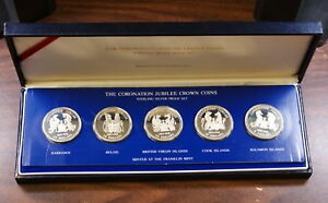 The-Coronation-of-the-Queen-5-Silver-Crown-Coins
