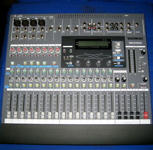 tascam tm d1000 digital mixer computer studio live recording mixing console 16 ebay. Black Bedroom Furniture Sets. Home Design Ideas