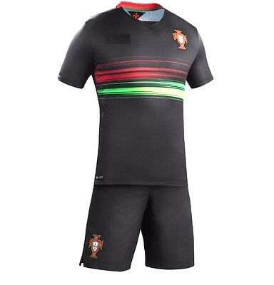 PORTUGAL National Soccer Team Jersey + Shorts KIDS Youth Size 18 (3 years old)