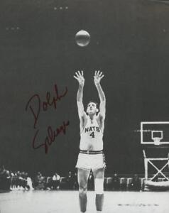 DOLPH SCHAYES signed 8x10 book photo (NATIONALS - AUTOGRAPH) HOF