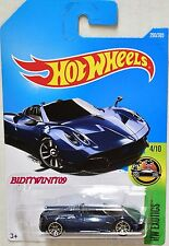 HOT WHEELS 2017 HW EXOTICS '17 PAGANI HUAYRA ROADSTER #4/10