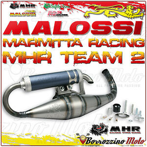 SincèRe Malossi 3214763 Silencieux Racing Mhr Team 2 Expansion Keeway Ouragan 50 2t Eu2