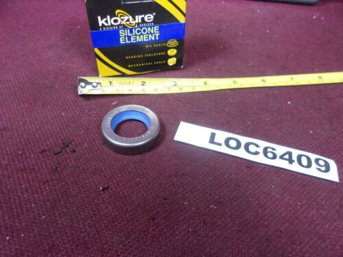 Details about  / KLOZURE SILICONE ELEMENT OIL SEALS .937 ID 1.500 OD SIL CRS 21168-0252 LOC6409
