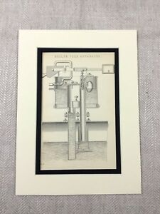 1880-Antique-Print-Boiler-Feed-Apparatus-Mechanical-Engineering-Victorian-Tools