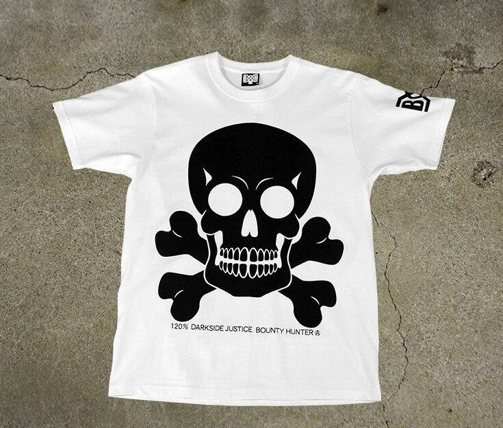 Bounty Hunter Japan big skull t-shirt, Bounty x Hunter BxH NEXUSVII Unrivaled