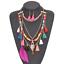 Fashion-Jewelry-Crystal-Choker-Chunky-Statement-Bib-Pendant-Women-Necklace-Chain miniature 75