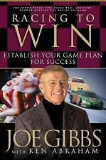 Racing to Win : Establish Your Game Plan for Success~ Joe Gibbs ~ Motivation