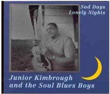 Sad Days, Lonely Nights [LP] by Junior Kimbrough (Vinyl, Dec-2004, Fat Possum Records)