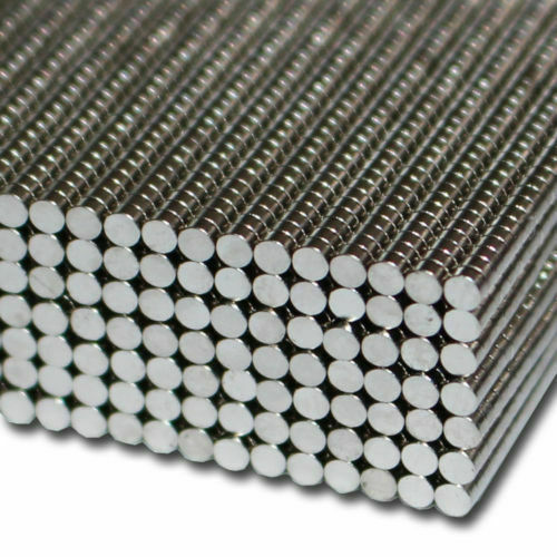 Magnete Neodym Kühlschrankmagnete Mini starke Haftkraft 2mm x 2mm