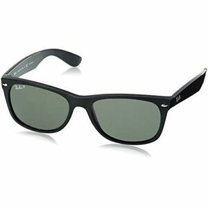 6b4401bf08 Ray Ban Sunglasses Wayfarer Rb2132 901 58 58mm Crystal Green Polarized Lens
