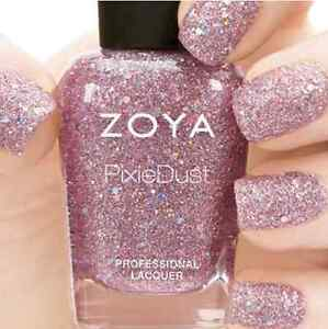 Image Is Loading ZOYA Magical PixieDust ZP719 LUX Rose Quartz Sparkle