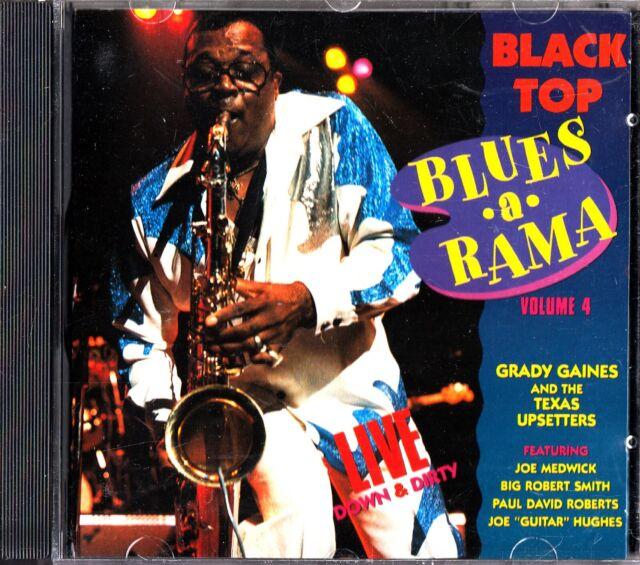 Black Top Blues-A-Rama Volume 4 Live CD -Grady Gaines (Joe Medwick/Upsetters)