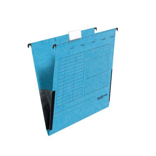 OVP Falken Hängetasche UniReg blau 25er Pack aus Recycling-Karton für DIN A4