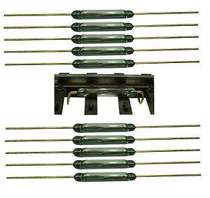 Reedkontakt-13-mm-x-2-mm-Miniatur-Reedschalter-Schliesser