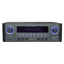 Technical Pro 1000-Watt Professional Receiver with USB & SD Card Inputs in Black
