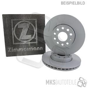 2-X-original-carpintero-discos-de-freno-COAT-Z-recubierto-eje-delantero-Mercedes