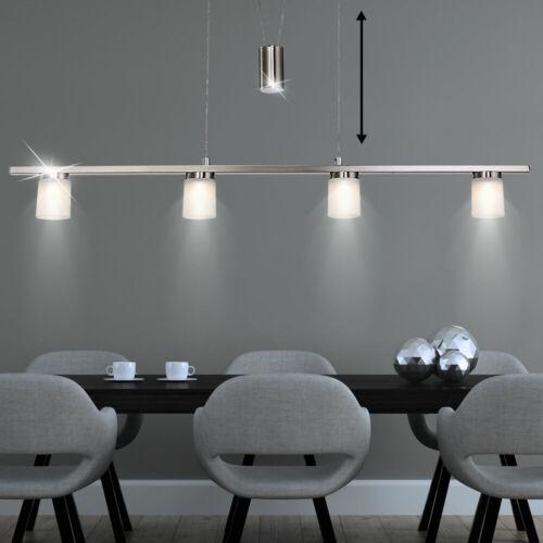 DEL Plafonnier Lustre Éclairage salon Luminaire Zugpendel Réglable en Hauteur