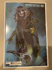 DC Comics Dark Nights Death Metal #2 Artgerm Harley Quinn Card Stock Cover
