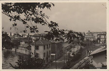 * BELLANO - Lago di Como - Fotocartolina 1933 c.10 Giuochi Universitari Torino