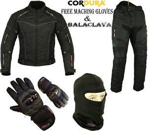 NIGHT-HAWK-MENS-CE-ARMOUR-MOTORBIKE-MOTORCYCLE-TEXTILE-JACKET-TROUSERS-SUIT