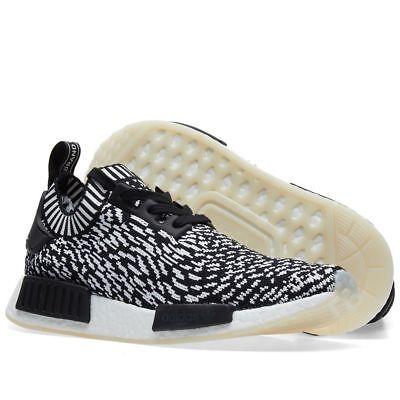 Details about Adidas NMD R1 PK Sashiko White/Zebra/Oreo Primeknit Boost BY3013 Mens sizes