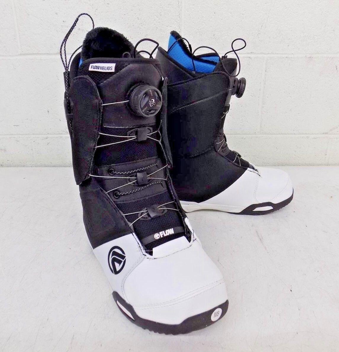 Flow Helios Hybrid Boa Coiler High-End All-Mountain Snowboard Boots 8 41 NEW