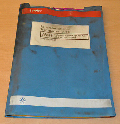 Lagere Prijs Met Vw Transporter T4 Fahrwerk Eigendiagnose Werkstatthandbuch Reparaturleitfaden