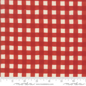 Cultivate-Kindness-BY-1-2-YD-RED-WHITE-CHECK-MODA-FABRICS-19935-13-PLAID