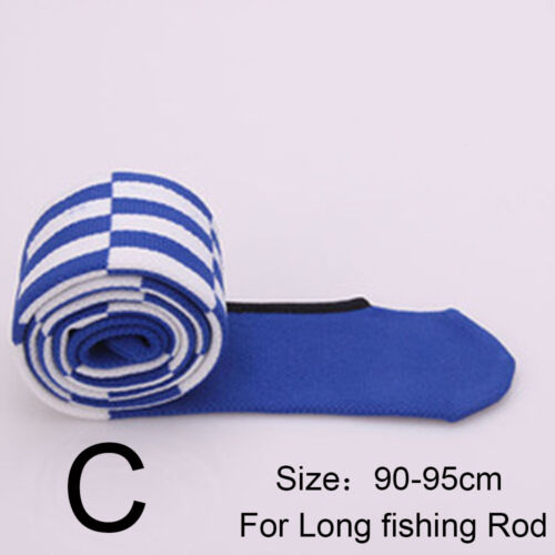 High Elastic Cotton Fishing Rod Sleeve Cover Pole Glove Protector Bag Tackle