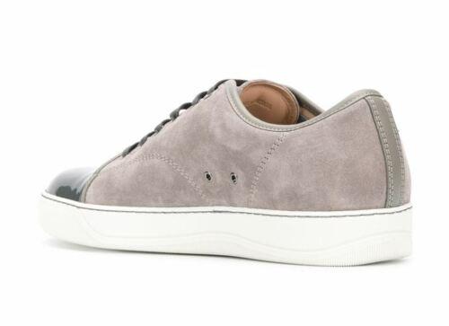 LANVIN toe cap  Men/'s shoes Fashion SNEAKERS  мужская 男鞋 紳士靴 100/%Authentic d0e