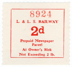 I-B-Londonderry-amp-Lough-Swilly-Railway-Newspaper-Parcel-2d