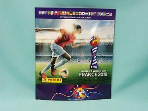 Panini-Frauen-WM-2019-France-Sammelalbum-Album-Sticker-Womens-World-Cup