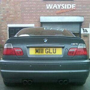 8 X Car Number Plate Double Sided Sticky Pads