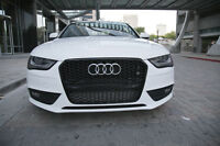 Audi A4 S4 B8.5 RS4 Style front grille gloss black titanium style 13 14 15