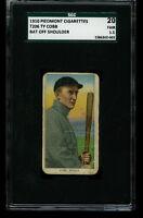 1910 T206 Piedmont TY COBB Bat off Shoulder Detroit HOF SGC 1.5