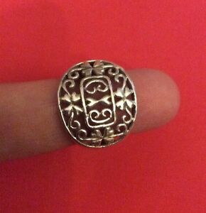 925-Genuine-Sterling-SILVER-Ring-Jewelry-SIZE-5-5-UNISEX